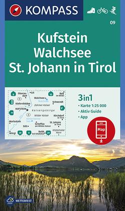 Kufstein, Walchsee, St. Johann in Tirol von KOMPASS-Karten GmbH