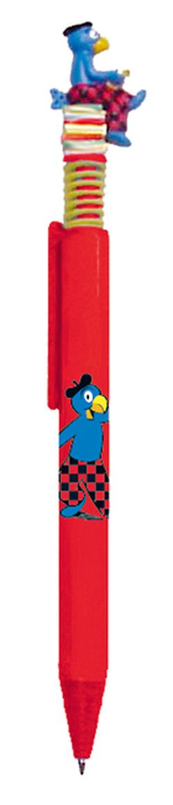 Kugelschreiber Globi einzeln rot