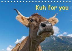 Kuh for you (Tischkalender 2018 DIN A5 quer) von Kaina,  Miriam