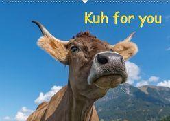 Kuh for you (Wandkalender 2018 DIN A2 quer) von Kaina,  Miriam