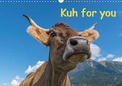 Kuh for you (Wandkalender 2018 DIN A3 quer) von Kaina,  Miriam