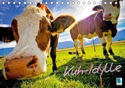 Kuh-Idylle (Tischkalender 2019 DIN A5 quer) von CALVENDO