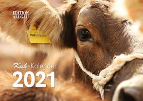 Kuh-Kalender 2021 von Haberstock,  Heinrich, Neufert,  Denise, Prediger,  Manuela, Riedisser,  Joshua, Scholl,  Reinhard, Wandel,  Juliane