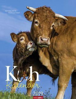 Kuh Kalender – Kalender 2019 von Hubert,  Marie-Luce, Klein,  Jean-Louis, Weingarten