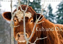 Kuh und Co. (Wandkalender 2020 DIN A4 quer) von Ehmke,  E.