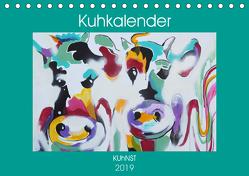 Kuhkalender (Tischkalender 2019 DIN A5 quer) von Ennikova,  Elena