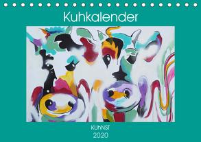 Kuhkalender (Tischkalender 2020 DIN A5 quer) von Ennikova,  Elena