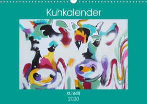 Kuhkalender (Wandkalender 2020 DIN A3 quer) von Ennikova,  Elena