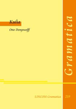 Kulia von Dempwolff,  Otto