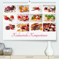 Kulinarische Kompositionen (Premium, hochwertiger DIN A2 Wandkalender 2021, Kunstdruck in Hochglanz) von Hasche,  Joachim
