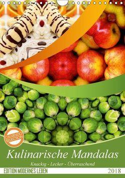 Kulinarische Mandalas (Wandkalender 2018 DIN A4 hoch) von Shayana Hoffmann,  Gaby