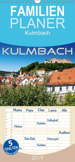 Kulmbach – Familienplaner hoch (Wandkalender 2019 , 21 cm x 45 cm, hoch) von Dietzel,  Karin