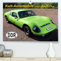 Kult-Automobile aus dem Osten (Premium, hochwertiger DIN A2 Wandkalender 2020, Kunstdruck in Hochglanz) von u.a.,  KPH