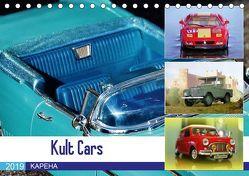 Kult Cars (Tischkalender 2019 DIN A5 quer) von u.a.,  KAPEHA