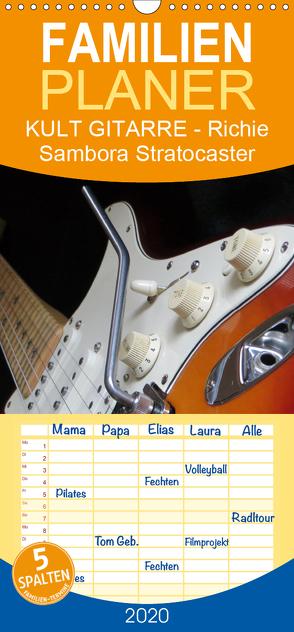 KULT GITARRE – Richie Sambora Stratocaster – Familienplaner hoch (Wandkalender 2020 , 21 cm x 45 cm, hoch) von Bleicher,  Renate