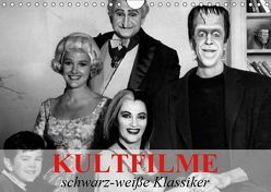 Kultfilme – schwarz-weiße Klassiker (Wandkalender 2019 DIN A4 quer) von Stanzer,  Elisabeth