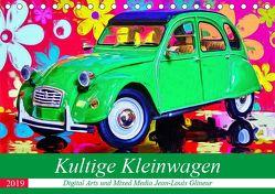 Kultige Kleinwagen (Tischkalender 2019 DIN A5 quer) von Glineur alias DeVerviers,  Jean-Louis