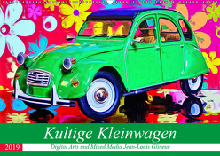 Kultige Kleinwagen (Wandkalender 2019 DIN A2 quer) von Glineur alias DeVerviers,  Jean-Louis