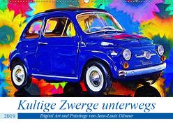 Kultige Zwerge unterwegs (Wandkalender 2019 DIN A2 quer) von Glineur,  Jean-Louis