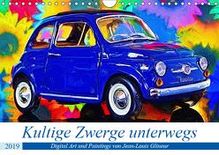 Kultige Zwerge unterwegs (Wandkalender 2019 DIN A4 quer) von Glineur,  Jean-Louis