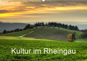 Kultur im Rheingau (Wandkalender 2020 DIN A2 quer) von Hess,  Erhard