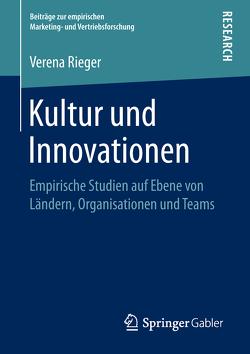 Kultur und Innovationen von Rieger,  Verena