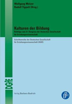Kulturen der Bildung von Melzer,  Wolfgang, Tippelt,  Rudolf