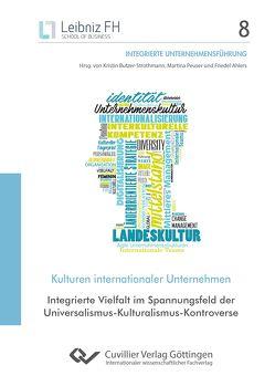 Kulturen internationaler Unternehmen (Band 8) von Butzer-Strothmann,  Kristin