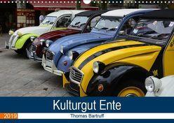 Kulturgut Ente (Wandkalender 2019 DIN A3 quer) von Bartruff,  Thomas