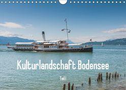 Kulturlandschaft Bodensee – Teil I (Wandkalender 2019 DIN A4 quer) von Hess,  Erhard