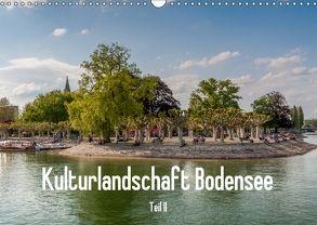 Kulturlandschaft Bodensee – Teil II (Wandkalender 2018 DIN A3 quer) von Hess,  Erhard