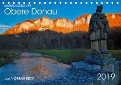Kulturlandschaft Obere Donau (Tischkalender 2019 DIN A5 quer) von Beck,  Andreas