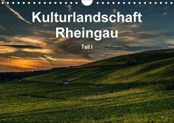 Kulturlandschaft Rheingau – Teil I (Wandkalender 2018 DIN A4 quer) von Hess,  Erhard