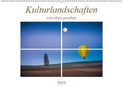 Kulturlandschaften von oben gesehen (Wandkalender 2019 DIN A2 quer) von Gödecke,  Dieter