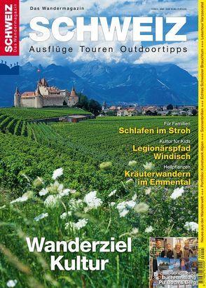 Kulturwandern Schweiz von Ihle,  Jochen, Kaiser,  Toni, Meier,  Peter-Lukas