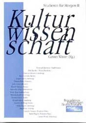 Kulturwissenschaft von Winter,  Carsten