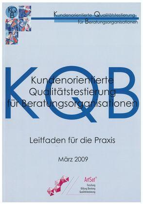 Kundenorientierte Qualitätstestierung für Beratungsorganisationen von Zech,  Rainer