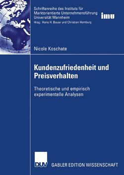 Kundenzufriedenheit und Preisverhalten von Koschate,  Nicole
