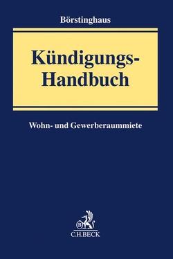 Kündigungs-Handbuch von Börstinghaus,  Ulf, Kellersmann,  Florian, Pöpel,  Thomas