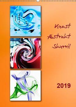 Kunst – Abstrakt – Skurril (Wandkalender 2019 DIN A2 hoch) von Kolfenbach,  Klaus