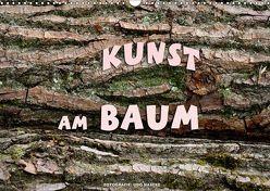 Kunst am Baum (Wandkalender 2019 DIN A3 quer) von Haafke,  Udo