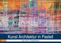 Kunst Architektur in Pastell (Wandkalender 2020 DIN A2 quer) von Spescha,  Maurus