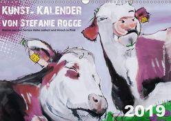 Kunst-Kalender von Stefanie Rogge (Wandkalender 2019 DIN A3 quer)