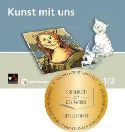 Kunst mit uns – Schülerband 1/2 von Lutz,  Claudia, Wagner,  Ernst, Willmann,  Verena