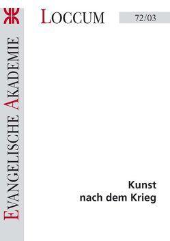 Kunst nach dem Krieg von Hoffmann,  Detlef