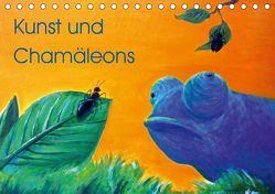 Kunst und Chamäleons (Tischkalender 2019 DIN A5 quer) von Knyssok,  Sonja