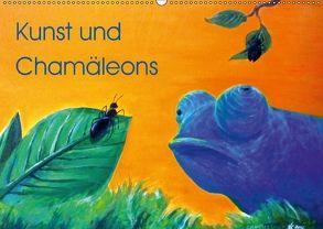 Kunst und Chamäleons (Wandkalender 2018 DIN A2 quer) von Knyssok,  Sonja