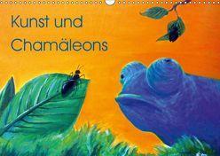 Kunst und Chamäleons (Wandkalender 2019 DIN A3 quer) von Knyssok,  Sonja