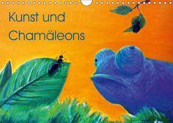 Kunst und Chamäleons (Wandkalender 2019 DIN A4 quer) von Knyssok,  Sonja