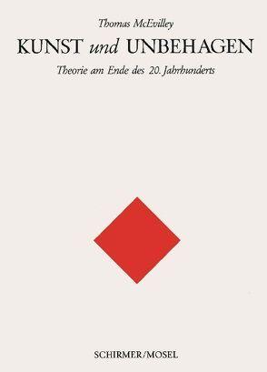 Kunst und Unbehagen von McEvilley,  Thomas, Trobitius,  Jörg